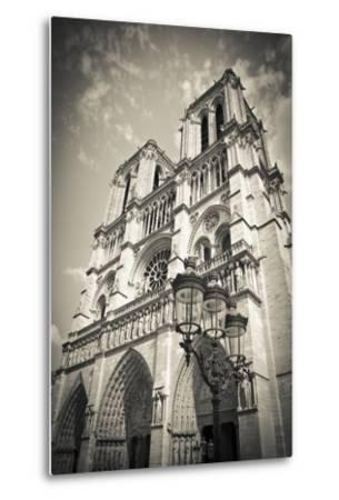 Notre Dame Cathedral, Paris, France-Russ Bishop-Metal Print