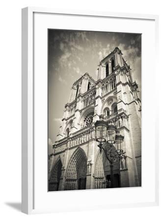 Notre Dame Cathedral, Paris, France-Russ Bishop-Framed Photographic Print