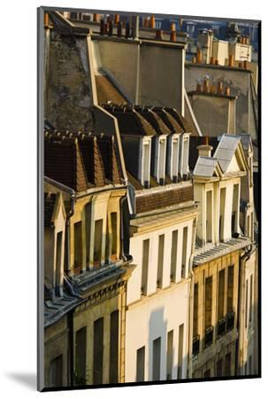 Morning Light on Houses in the Latin Quarter, Paris, France-Russ Bishop-Mounted Photographic Print