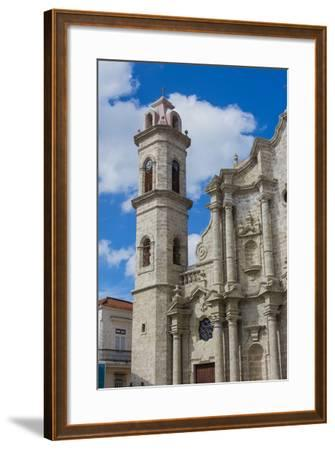 Cuba. Havana. Old Havana. Cathedral of the Virgin Mary of the Immaculate Conception, 1777-Inger Hogstrom-Framed Photographic Print