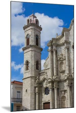 Cuba. Havana. Old Havana. Cathedral of the Virgin Mary of the Immaculate Conception, 1777-Inger Hogstrom-Mounted Photographic Print