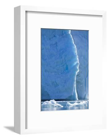 Norway, Svalbard, Ice at the Base of the Monacobreen Glacier-Ellen Goff-Framed Photographic Print