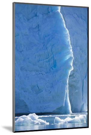 Norway, Svalbard, Ice at the Base of the Monacobreen Glacier-Ellen Goff-Mounted Photographic Print