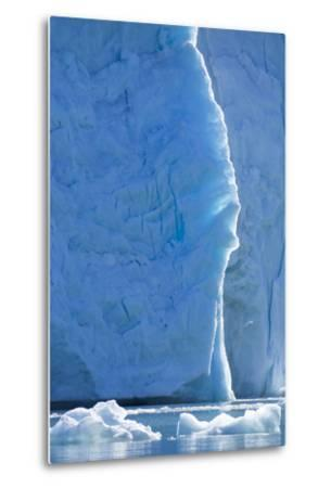Norway, Svalbard, Ice at the Base of the Monacobreen Glacier-Ellen Goff-Metal Print