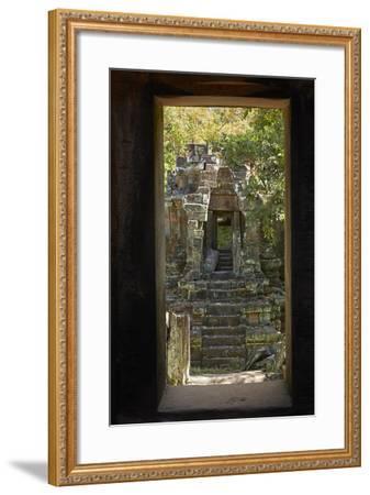 North Khleang Temple, Angkor Thom, Angkor World Heritage Site, Siem Reap, Cambodia-David Wall-Framed Photographic Print