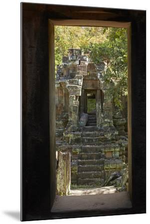 North Khleang Temple, Angkor Thom, Angkor World Heritage Site, Siem Reap, Cambodia-David Wall-Mounted Photographic Print
