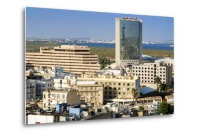 Cityscape of Tunis, Tunis, Tunisia, North Africa-Nico Tondini-Metal Print