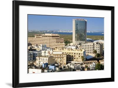 Cityscape of Tunis, Tunis, Tunisia, North Africa-Nico Tondini-Framed Photographic Print