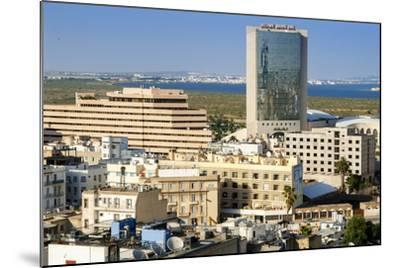 Cityscape of Tunis, Tunis, Tunisia, North Africa-Nico Tondini-Mounted Photographic Print