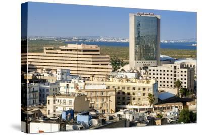 Cityscape of Tunis, Tunis, Tunisia, North Africa-Nico Tondini-Stretched Canvas Print