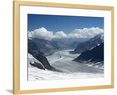 Switzerland, Bern Canton, Jungfraujoch, Aletsch Glacier-Jamie And Judy Wild-Framed Photographic Print