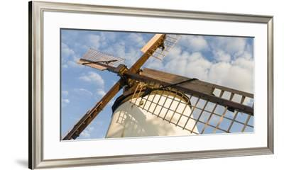 Podersdorf Am See on the Shore of Lake Neusiedl, Burgenland, Austria-Martin Zwick-Framed Premium Photographic Print