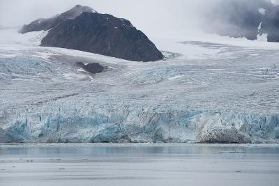 Norway, Barents Sea, Svalbard, Spitsbergen, Lilliehook Glacier-Cindy Miller Hopkins-Photographic Print