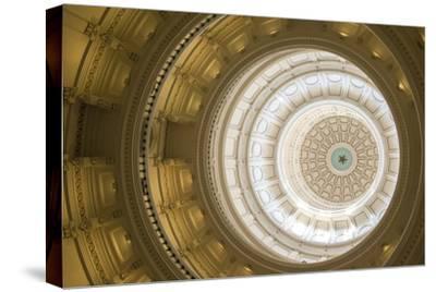 Rotunda, State Capitol Building, Austin, Texas, Usa-Jim Engelbrecht-Stretched Canvas Print