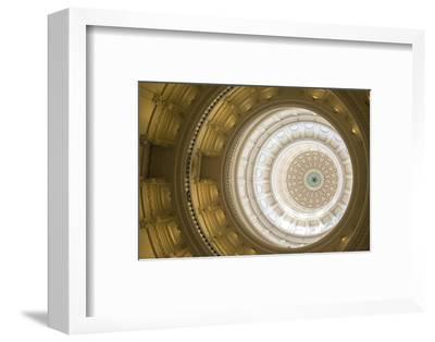 Rotunda, State Capitol Building, Austin, Texas, Usa-Jim Engelbrecht-Framed Photographic Print