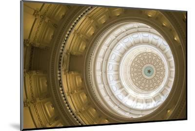 Rotunda, State Capitol Building, Austin, Texas, Usa-Jim Engelbrecht-Mounted Photographic Print