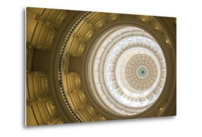 Rotunda, State Capitol Building, Austin, Texas, Usa-Jim Engelbrecht-Metal Print