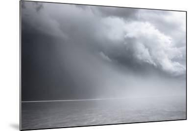 Utah, Bonneville Salt Flats. Approaching Thunderstorm-Judith Zimmerman-Mounted Photographic Print