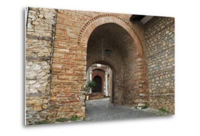 Macedonia, Ohrid, Church of the Holy Mother of God Perivleptos, Ohrid, Macedonia-Emily Wilson-Metal Print
