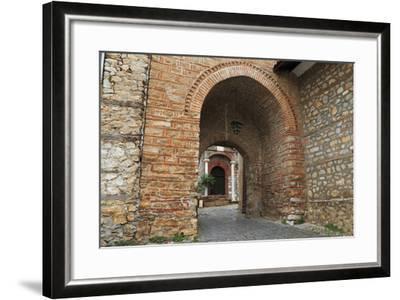 Macedonia, Ohrid, Church of the Holy Mother of God Perivleptos, Ohrid, Macedonia-Emily Wilson-Framed Photographic Print