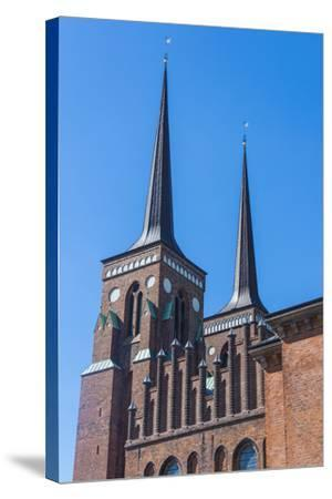 Cathedral of Roskilde, Denmark-Michael Runkel-Stretched Canvas Print