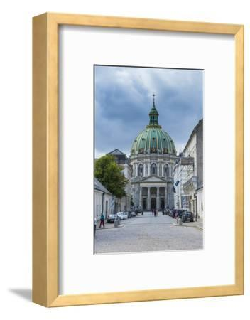 Frederik's Church, known as the Marble Church, Copenhagen, Denmark-Michael Runkel-Framed Photographic Print