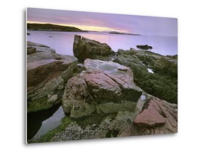 Atlantic Ocean Near Thunder Hole, Acadia National Park, Maine-Tim Fitzharris-Metal Print