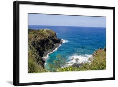 Historic Kilauea Lighthouse on Kilauea Point National Wildlife Refuge, Kauai, Hawaii-Michael DeFreitas-Framed Photographic Print