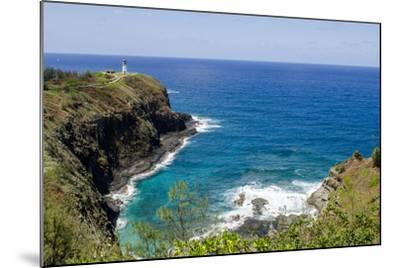 Historic Kilauea Lighthouse on Kilauea Point National Wildlife Refuge, Kauai, Hawaii-Michael DeFreitas-Mounted Photographic Print