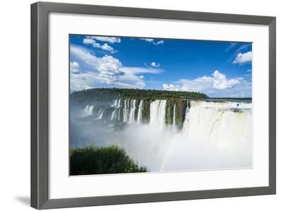 Iguazu Falls, Foz De Iguazu, Argentina-Michael Runkel-Framed Photographic Print