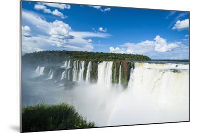 Iguazu Falls, Foz De Iguazu, Argentina-Michael Runkel-Mounted Photographic Print
