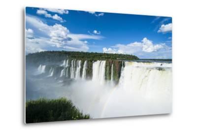 Iguazu Falls, Foz De Iguazu, Argentina-Michael Runkel-Metal Print