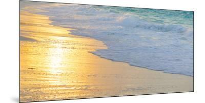 Bahamas, Little Exuma Island. Sunset on Beach-Jaynes Gallery-Mounted Premium Photographic Print