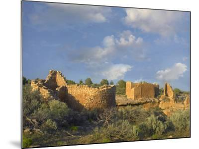 Hovenweep House and Hovenweep Castle, Hovenweep National Monument, Utah-Tim Fitzharris-Mounted Photographic Print