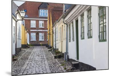 Denmark, Jutland, Ribe, Building Detail-Walter Bibikow-Mounted Photographic Print