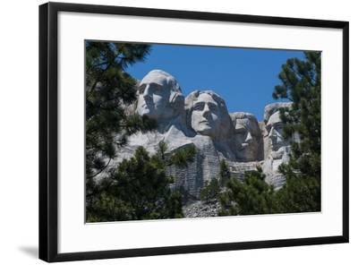 Mount Rushmore, South Dakota, Usa-Michael Runkel-Framed Photographic Print