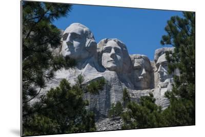 Mount Rushmore, South Dakota, Usa-Michael Runkel-Mounted Photographic Print