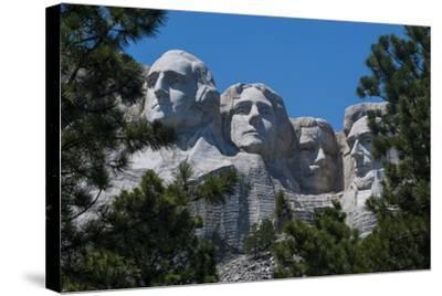 Mount Rushmore, South Dakota, Usa-Michael Runkel-Stretched Canvas Print