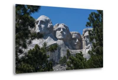 Mount Rushmore, South Dakota, Usa-Michael Runkel-Metal Print