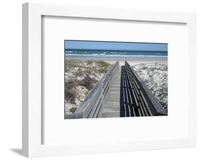 Florida, New Smyrna Beach, Smyrna Dunes Park, Boardwalk-Lisa S^ Engelbrecht-Framed Photographic Print