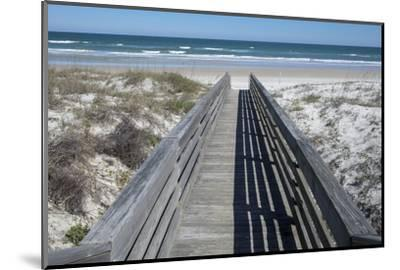 Florida, New Smyrna Beach, Smyrna Dunes Park, Boardwalk-Lisa S^ Engelbrecht-Mounted Photographic Print