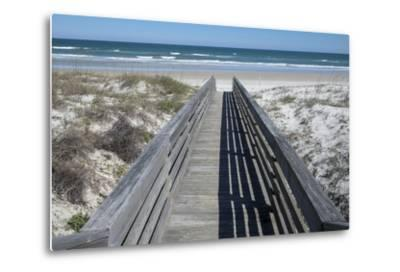 Florida, New Smyrna Beach, Smyrna Dunes Park, Boardwalk-Lisa S^ Engelbrecht-Metal Print