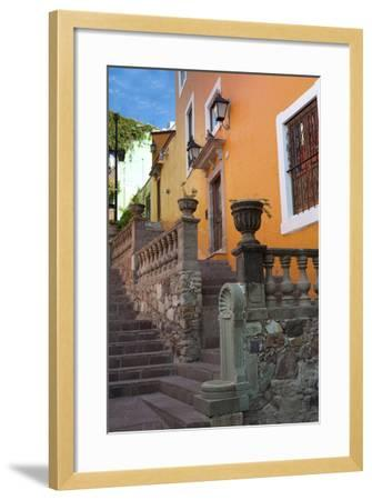 Mexico, the Colorful Homes and Buildings of Guanajuato-Judith Zimmerman-Framed Photographic Print