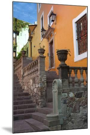 Mexico, the Colorful Homes and Buildings of Guanajuato-Judith Zimmerman-Mounted Photographic Print
