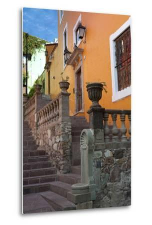 Mexico, the Colorful Homes and Buildings of Guanajuato-Judith Zimmerman-Metal Print