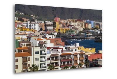 Spain, Canary Islands, Tenerife, Candelaria, Elevated Town View-Walter Bibikow-Metal Print