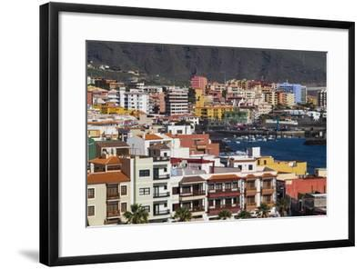 Spain, Canary Islands, Tenerife, Candelaria, Elevated Town View-Walter Bibikow-Framed Photographic Print