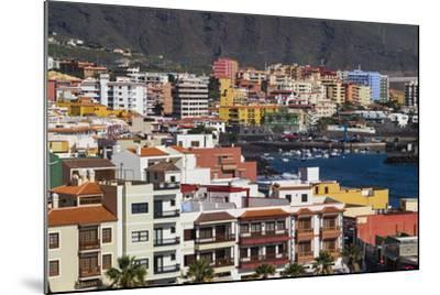 Spain, Canary Islands, Tenerife, Candelaria, Elevated Town View-Walter Bibikow-Mounted Photographic Print