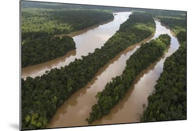 Cuyuni River, Guyana. Longest River in Guyana-Pete Oxford-Mounted Photographic Print