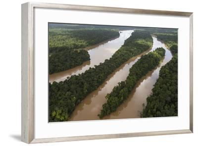 Cuyuni River, Guyana. Longest River in Guyana-Pete Oxford-Framed Photographic Print